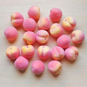 Персик-декор 3.5 см (муляж фруктов)